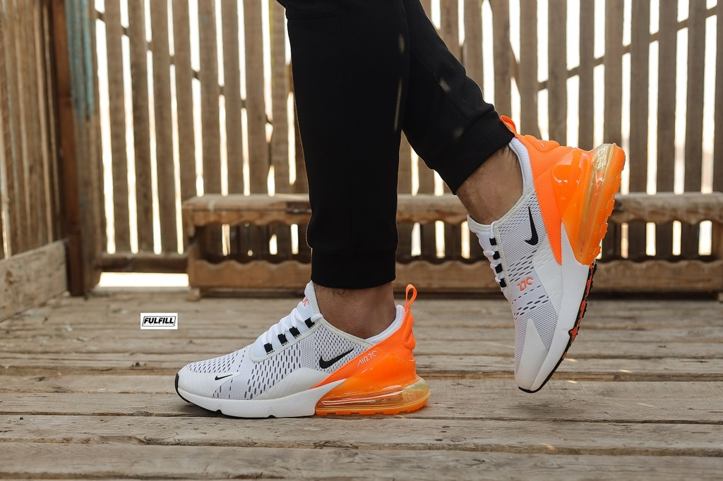 Nike Air 270 White-Orange