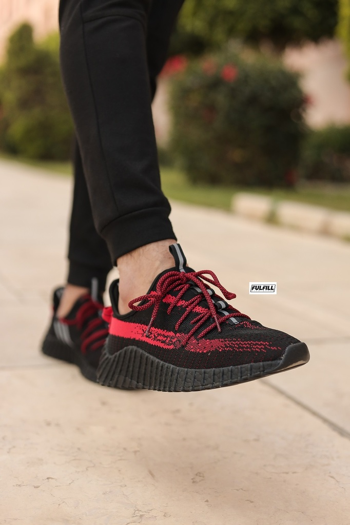 Adidas Yeezy Boost V2 250 Black-Red