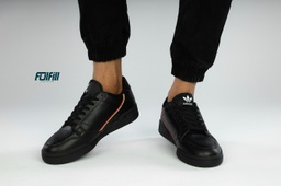 adidas Continental 80's Trainers In Black